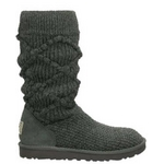 【UGG(アグ) AUSTRARIA】 ブーツ Classic Argyl Knit Boots/CHARCOAL★US7