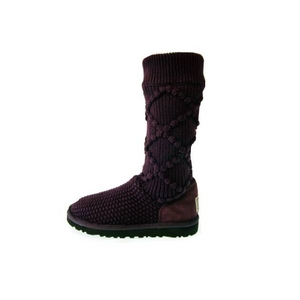 【UGG(アグ) AUSTRARIA】 ブーツ Classic Argyl Knit Boots/FIG★US7