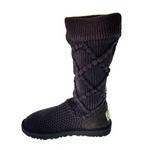 【UGG(アグ) AUSTRARIA】 ブーツ Classic Argyl Knit Boots/STOUT  BROUN★US6