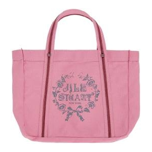 JILL STUART(ジルスチュアート) ラメロゴキャンパストートバッグ(ピンク)
