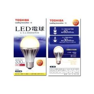 TOSHIBA(東芝) LED電球(60W相当) E-CORE(イー・コア)【電球色相当】 - 拡大画像