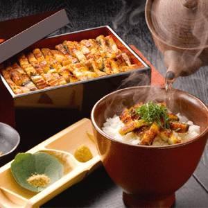 「浅草うな鐡」塩ひつまぶし4食入、1食で3通りに楽しめるサッパリ塩味セット - 拡大画像