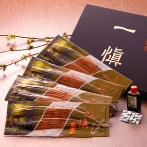 【愛知県産うなぎ使用】うなぎ割烹「一愼」特製うなぎ長蒲焼約140g×4尾(たれ、山椒セット)
