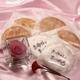 【2010年母の日予約開始】草加煎餅DEお母さんありがとう・一輪のバラの花付 写真2