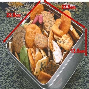 【訳あり】草加・おまかせ割れせんべい(煎餅) 1000g缶