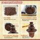 流れるチョコレートに夢中 PARTYedel チョコツリー - 縮小画像3
