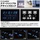 デザインクロック【スマートデジタルクロック】ブルー 写真2
