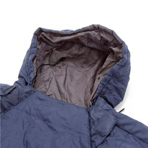 人型寝袋(シュラフ) ブルー×イエロー
