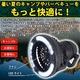 LEDライト付の扇風機【キャンピングライトファン】 - 縮小画像2