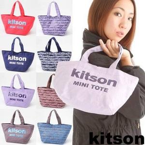 kitson(キットソン) ミニトートバッグ GRAFFITI Navy  - 拡大画像