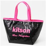 【¥6,980】kitson(キットソン) ネオン スパンコール ミニトートバッグ Pink