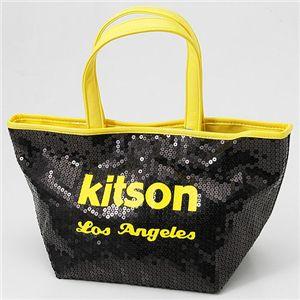 kitson(キットソン) ネオン スパンコール ミニトートバッグ Yellow - 拡大画像