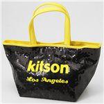 【¥6,980】kitson(キットソン) ネオン スパンコール ミニトートバッグ Yellow