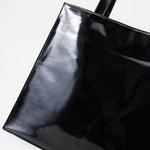 DEAN&DELUCA(ディーン&デルーカ) Large Patent トートバッグ 171518・ブラック