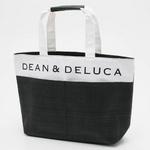 DEAN&DELUCA(ディーン&デルーカ) ストロートートバッグ 171521・ブラック