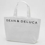 DEAN&DELUCA(ディーン&デルーカ) ストロートートバッグ 171521・ホワイト