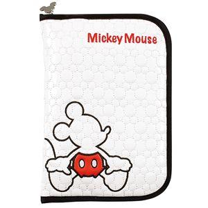 ディズニー ミッキーマウス レッドパンツ 母子手帳ケースL
