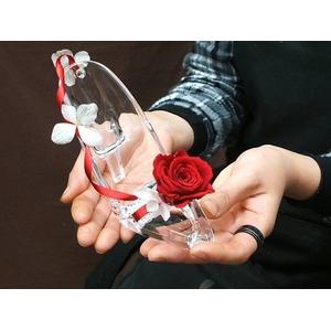 """シンデレラストーリー """"シンデレラの靴"""" 赤いバラ - 拡大画像"""