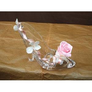 """シンデレラストーリー """"シンデレラの靴"""" ピンクのバラ"""
