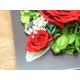 プリザーブドフラワーの壁掛け 赤バラ - 縮小画像4