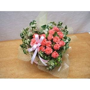 ローズハート のピンクバラ アレンジ