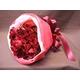 赤バラ花束のミニブーケ