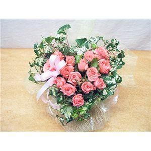 【母の日限定ギフト】人気のバラをかわいくアレンジ♪ローズハート♪母の日限定価格メーッセージカード付き♪