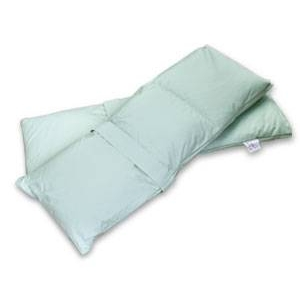 足専用の羽毛布団 フットロール ブルー