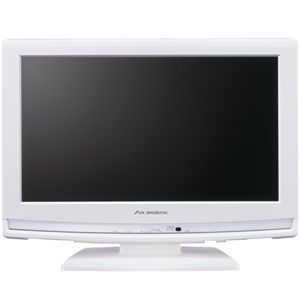 DXアンテナ 19V型地上・BS・CSデジタルハイビジョン液晶テレビ LVW-193 ホワイト