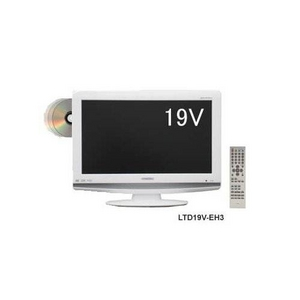 ORION(オリオン)19V型 DVDプレーヤー内蔵 地上デジタルハイビジョン液晶テレビ ホワイト LTD19V-EH3