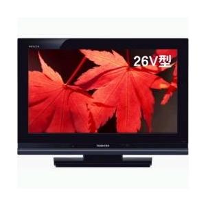 TOSHIBA(東芝)REGZA(レグザ)26V型 地上・BS・110度CSデジタルハイビジョン液晶テレビ 26A9000-K ムーンブラック - 拡大画像