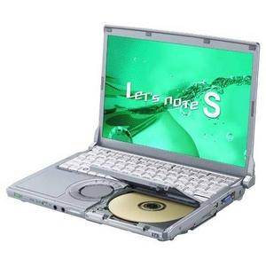 Panasonic(パナソニック)Let's note(レッツノート)S8シリーズ CF-S8HYEADR - 拡大画像