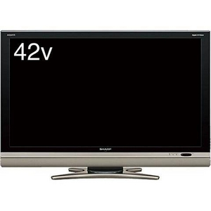 SHARP(シャープ) AQUOS(アクオス) 42V型デジタルハイビジョン液晶テレビ ブラック LC-42DS6B