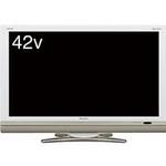 SHARP(シャープ) AQUOS(アクオス) 42V型デジタルハイビジョン液晶テレビ ホワイト LC-42DS6W