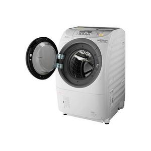 パナソニック 9.0kgドラム式洗濯乾燥機【左開き】クリスタルホワイトジェット