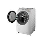 パナソニック 9.0kgドラム式洗濯乾燥機【左開き】クリスタルホワイトジェットDancing NA-V1600L-W
