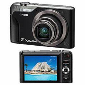 CASIO(カシオ) デジタルカメラ EXILIM EX-H10-B ブラック