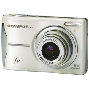 OLYMPUS(オリンパス) デジタルカメラ CAMEDIA FE-46 シルバー