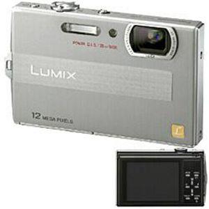 PANASONIC(パナソニック) デジタルカメラ LUMIX DMC-FP8-S シルバー