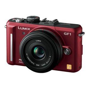 PANASONIC(パナソニック) デジタル一眼レフカメラ DMC-GF1C-R アーバンレッド