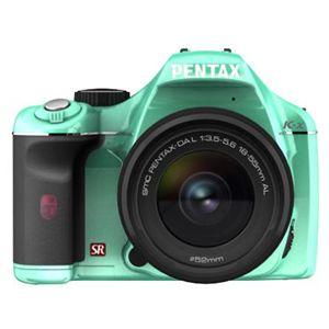 PENTAX K-x レンズキット ライトグリーン/ブラック 071 (デジタル一眼レフカメラ)