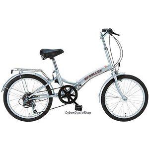 マイパラス 折畳自転車 M-30-S シルバー画像1