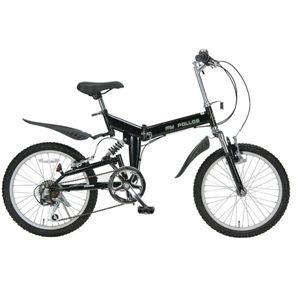 MYPALLAS(マイパラス) 折り畳み自転車 20インチ M-10-BK スタイリッシュブラック