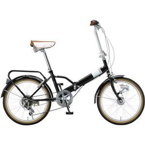 Raychell(レイチェル) 折り畳み自転車 20インチ MHD-206R-BR ブラウン