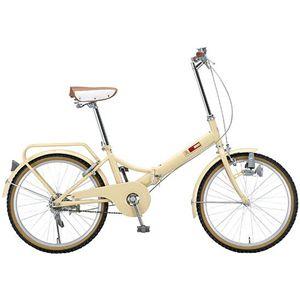 Raychell(レイチェル) 折り畳み自転車 22インチ 09 OF-22R-I アイボリー
