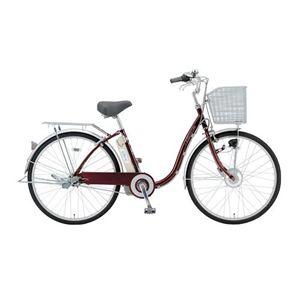 SANYO(サンヨー) 電動自転車 エネループ 26インチ CY-SPF226A-R ワインレッド 【電動アシスト自転車】