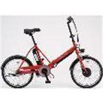 SANYO(サンヨー) 電動自転車 エネループ 20インチ CY-SPJ220-R レッド 【電動アシスト自転車】