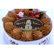 【12月8日で予約終了 2010年クリスマス向け】クリスマスケーキ チョコ5号 【12/21より順次発送】 - 縮小画像1