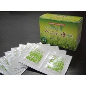 鹿児島県産 べにふうき粉末緑茶(1包0.4g×30包)×お買得4箱セット 画像2