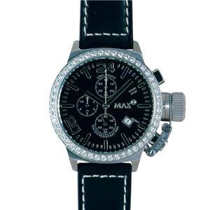 MAX XL WATCHES(マックスエックスエルウォッチ) 5-MAX 418 42mm Face ガラス付腕時計 - 拡大画像